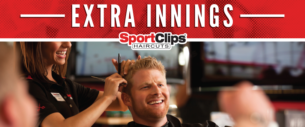 The Sport Clips Haircuts of Loveland  Extra Innings Offerings